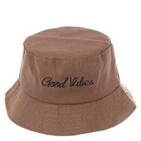 Good Vibes Bucket Hat,
