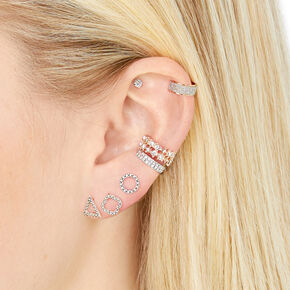 Geometric Piercing Party Set,