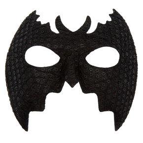 Lace Bat Mask - Black,
