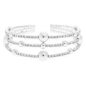 Silver Orbit Bracelet,