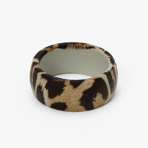Silicone Leopard Print Ring,