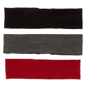 Everyday Headwraps - Burgundy, 3 Pack,