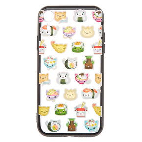 Cat Sushi Phone Case - Fits iPhone XR,