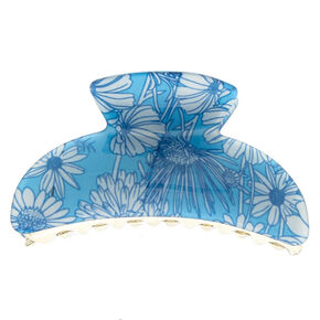 Sunflower Hair Claw - Baby Blue,