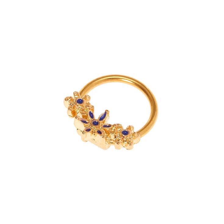 18G Flower Crown Helix Earring,