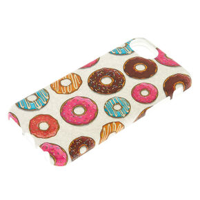 Glitter Donut Phone Case,