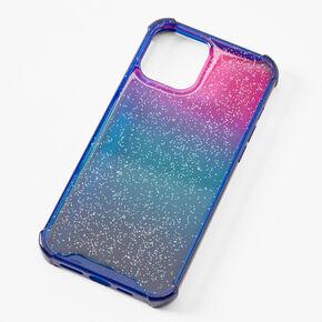 Nebula Glitter Ombre Phone Case - Fits iPhone 12 Pro Max,