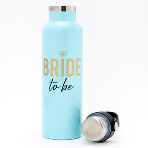 Bride To Be Metal Water Bottle - Blue,