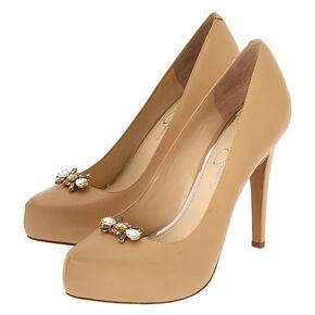Antique Gold Embellished Shoe Clips - 2 Pack,