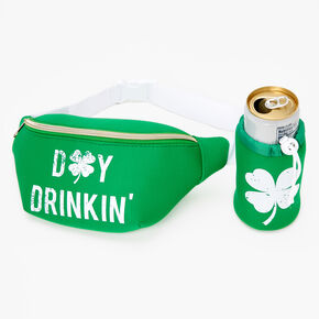 Day Drinkin' Fanny Pack - Green,