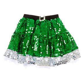 Sequin Elf Tutu - Green,