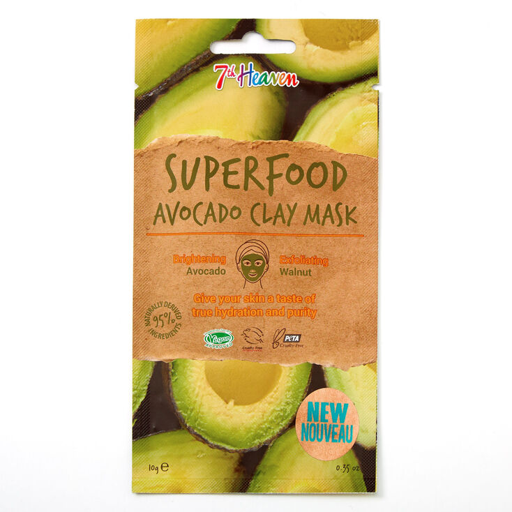 7th Heaven Superfood Avocado Clay Mask,