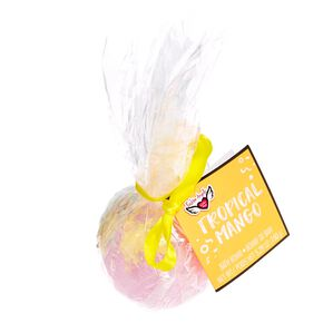 Tropical Mango Round Bath Bomb,