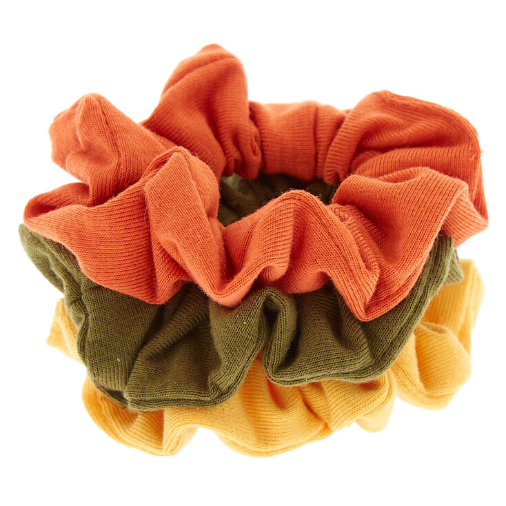 Small Safari Mix Hair Scrunchies - 3 Pack,