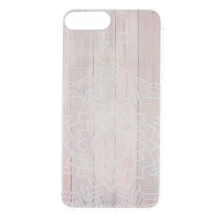 Wood Mandala Phone Case - Fits iPhone 6/7/8 Plus,