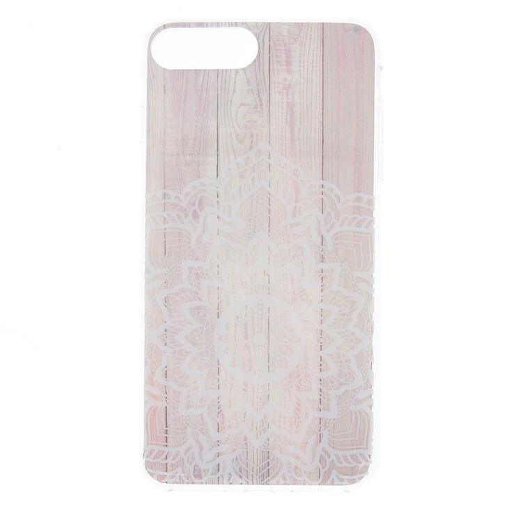 Wood Mandala Phone Case - Fits iPhone 6/7/8 Plus,
