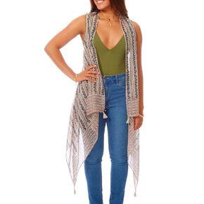 Paisley Summer Vest,