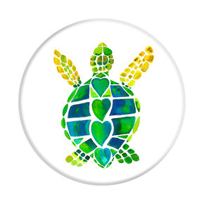 Turtle Love PopSocket,