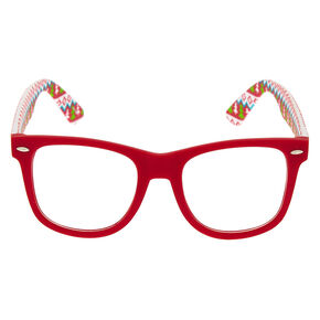 Ugly Sweater Retro Frames - Red,