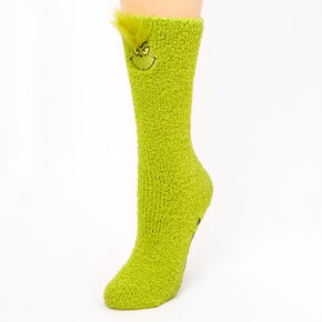 Dr. Seuss™ The Grinch Always Naughty Plush Socks,