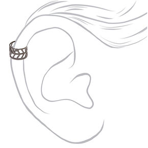 Mixed Metal Ear Cuffs - 3 Pack,