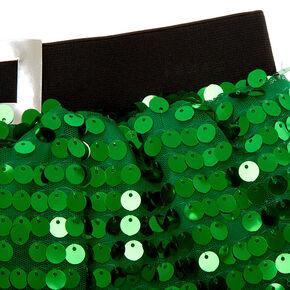 Sequin Elf Tutu - Green,