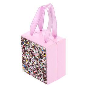 Small Glitter Gift Box - Pink,