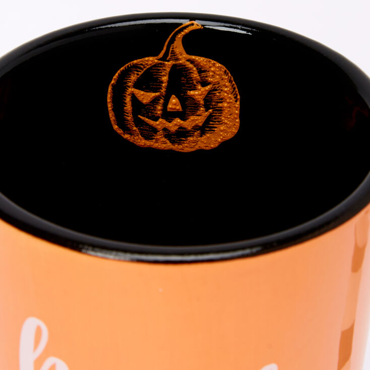 Hocus Pocus I Need Coffee To Focus Mug - Orange,
