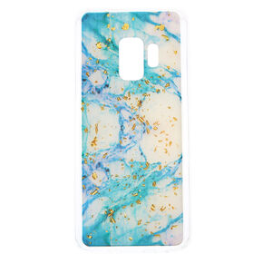 Marbled Gold Flake Phone Case - Fits Samsung Galaxy S9,