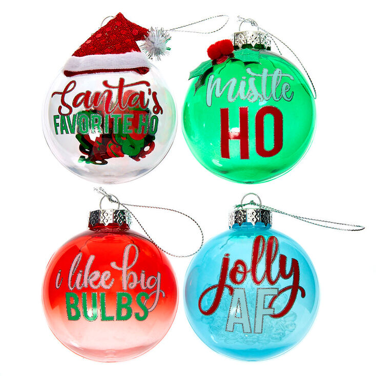Christmas Oranaments - 4 Pack,
