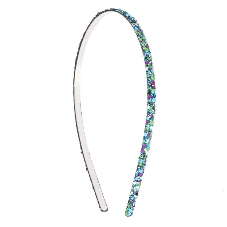 Skinny Mermaid Glitter Headband,