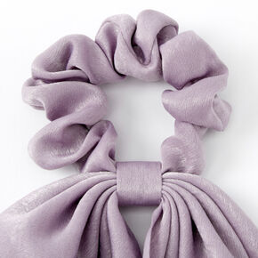 Small Hair Scrunchie Scarf - Mauve,