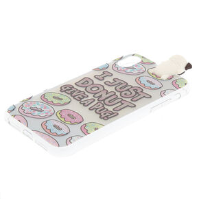 Marley Pug Pop Over Phone Case  - Fits iPhone XR,