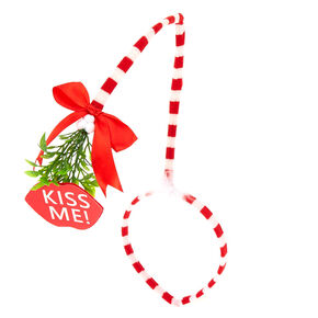 Kiss Me Mistletoe Headband,