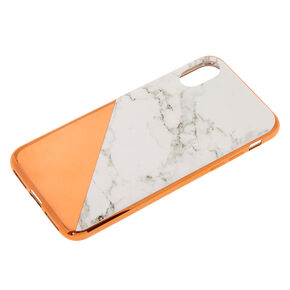 Rose Gold Marble Phone Case - Fits iPhone X/XS,