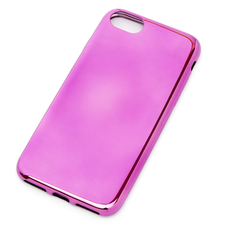 Pink Chrome Phone Case - Fits iPhone 6/7/8/SE,