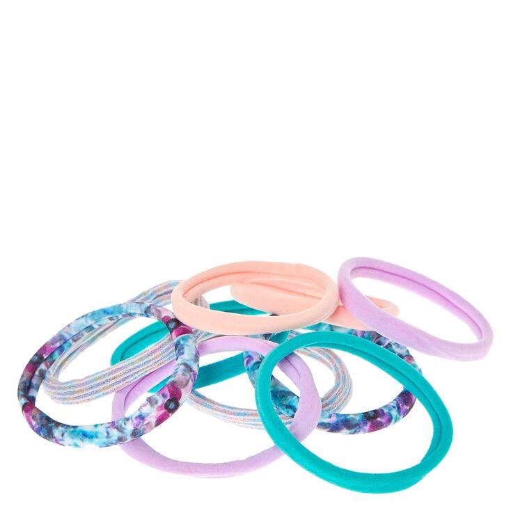 Pastel Floral Rolled Hair Ties,