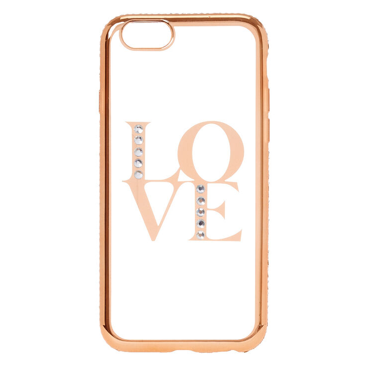 Gold Love Phone Case - Fits iPhone 5/5S/SE,