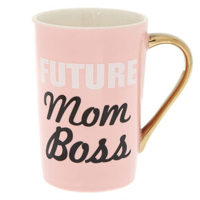 Future Mom Boss Ceramic Mug,