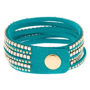 Western Wrap Bracelet - Turquoise,