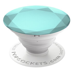 Glacier Metallic Diamond PopSocket,