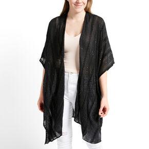 Sequin Kimono - Black,