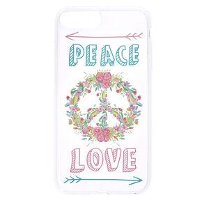 Peace & Love Phone Case,
