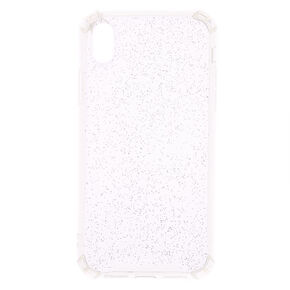 Clear Holographic Glitter Phone Case - Fits iPhone XR,
