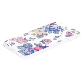 Floral Gem Phone Case - Fits iPhone 6/7/8 Plus,