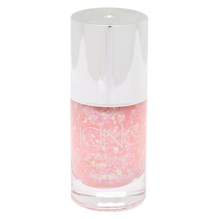 Glitter Nail Polish - Pink Holo Glitz,
