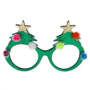 Glitter Christmas Tree Frames - Green,