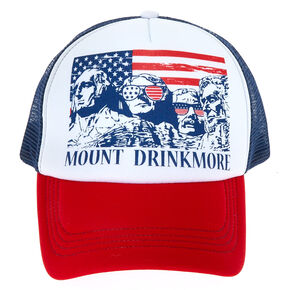 Mount Drinkmore Trucker Hat,