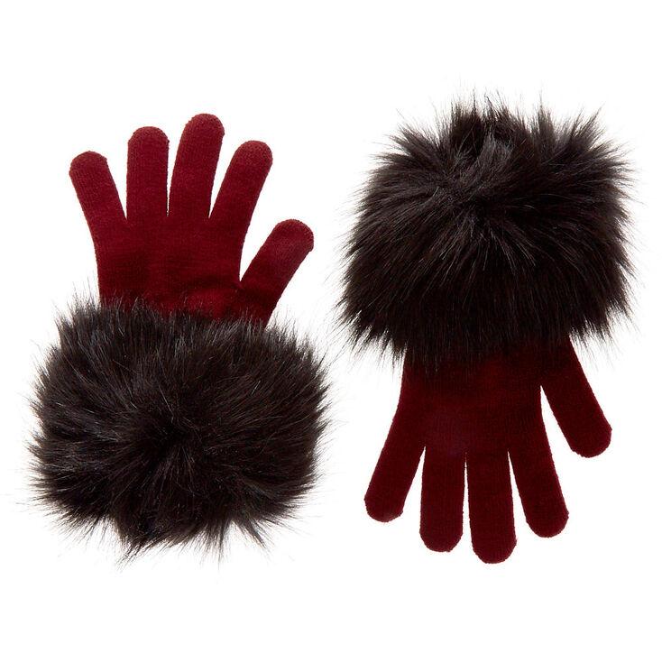 Bridgette Faux Fur Gloves,