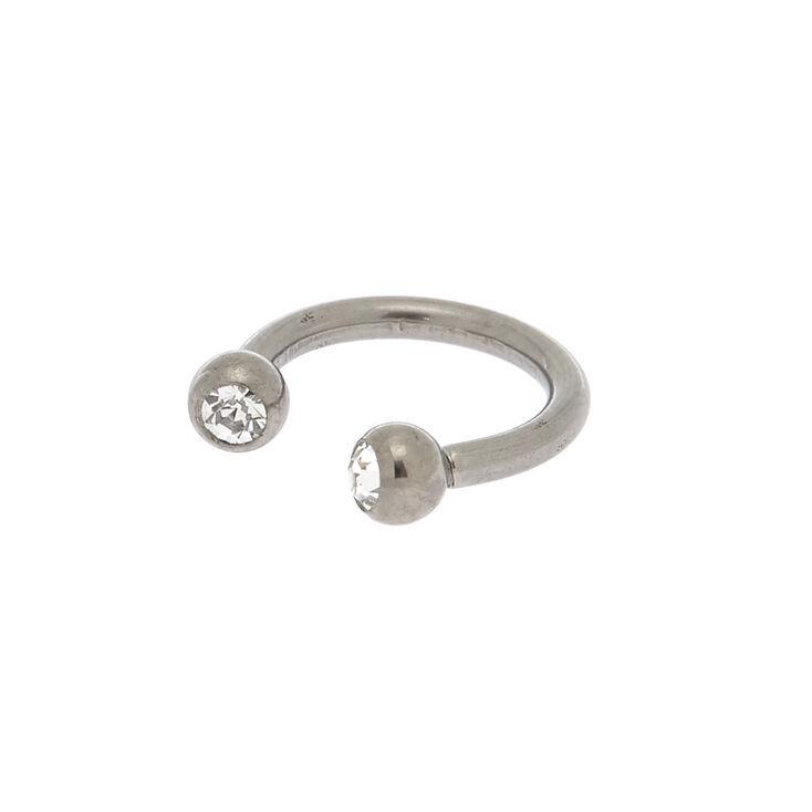 Titanium 16G Horseshoe Nose Ring,